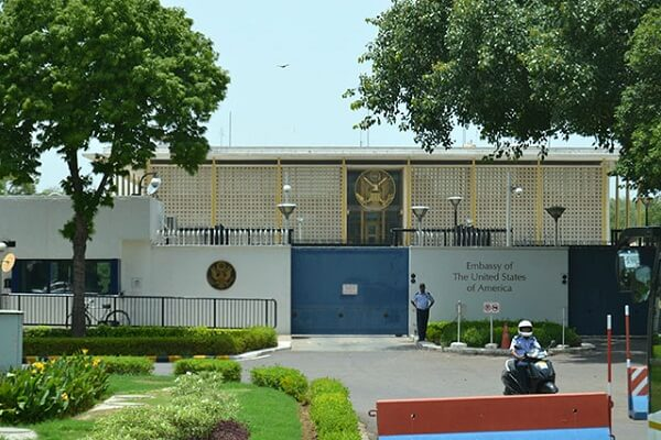 American Embassy in New Delhi