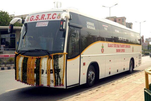 GSRTC Volvo Bus