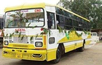 Kadi GSRTC Bus